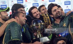 Pakistan won the T20 home series